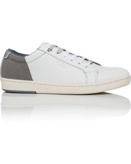 Xiloto Two Tone Leather Sneaker