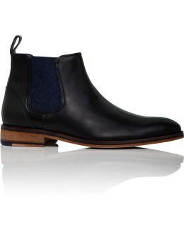 Camroon4 Leather Chelsea Boot W/ Leather Sole