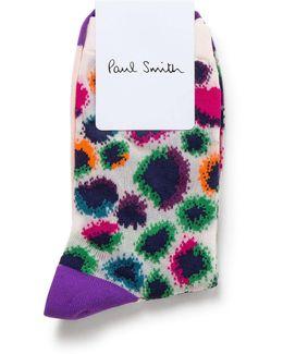 Carolina Sheer Leopard Sock