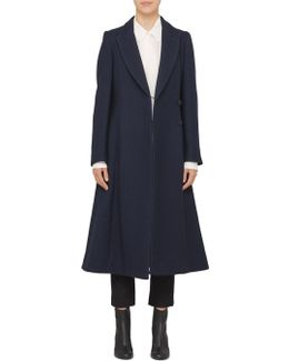Vivienne Double-breasted Wool-blend Coat