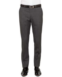 Tonal Check Trouser