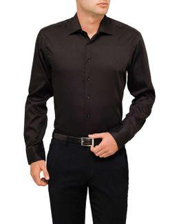 Infinite Black Slim Fit Shirt