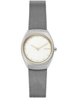 Asta Analog Mesh Bracelet Watch