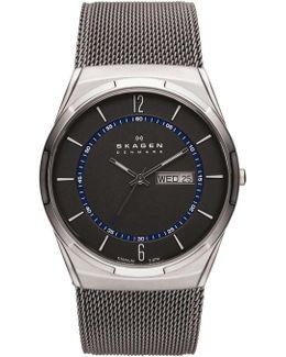 Men's Titanium Mesh Bracelet Watch 40mm Skw6078