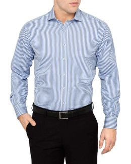 Rapids Stripe Shirt Regular Fit Single Cuff