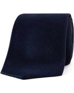 Solid Navy Tie