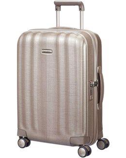 Litecube 55cm Spinner Champange Suitcase