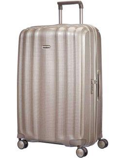 Litecube 82cm Spinner Champange Suitcase