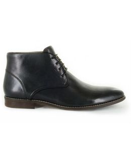 Almansa Leather Desert Boot
