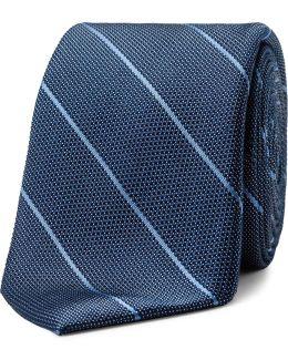 Pebble Pinstripe Tie