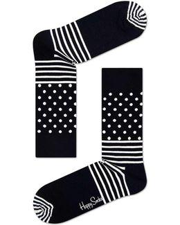 Split & Dots Sock