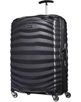 Lite Shock 75cm Spinner Black Suitcase