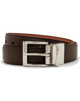 Dress Reversible Leather Belt