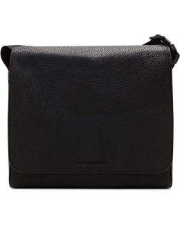 Linea Luxor Pebbled Leather E/w Messenger Bag