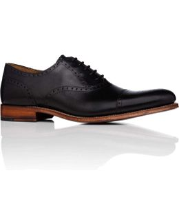 Tom Oxford W/ Cap Toe Brogue Detailing And Welted Sole
