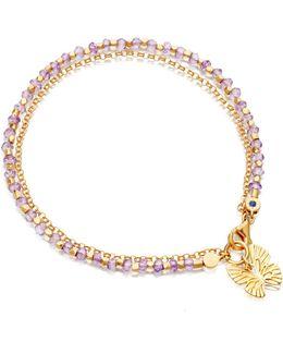 Rose De France Butterfly Biography Bracelet