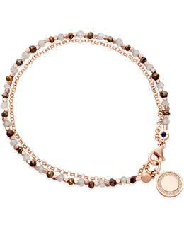 Cosmos Friendship Bracelet With Labradorite & Spinel