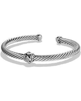 Renaissance Bracelet With Diamonds, 5mm