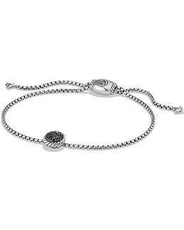 Petite Pave Bracelet With Black Diamonds