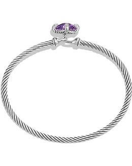 Chatelaine® Bracelet With Amethyst And Diamonds, 9mm