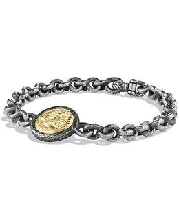 Petrvs Lion Bracelet With 18k Gold