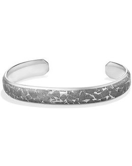 Fused Meteorite Cuff Bracelet