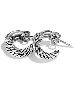Labyrinth® Single-loop Earrings With Diamonds