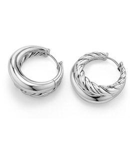 Pure Form Hoop Earrings, 25.5mm