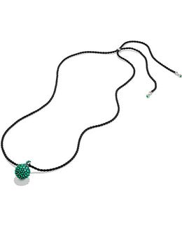 Osetra Pendant Necklace With Green Onyx