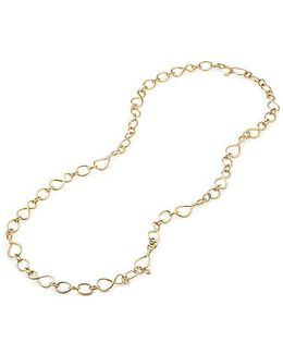 Continuance Medium Chain Necklace In 18k Gold