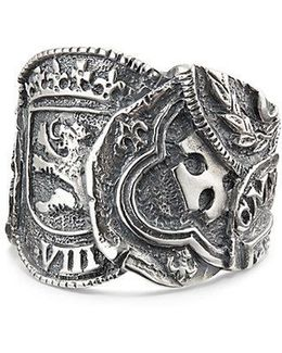 Shipwreck Coin Ring, 23.5mm