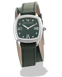 Albion® 27mm Leather Swiss Quartz Watch
