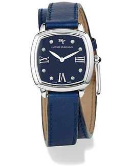 Albion 27mm Leather Swiss Quartz Watch