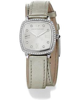 Albion 27mm Silver Metallic Swiss Quartz Watch