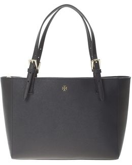 Saffiano Leather York Shopping Bag
