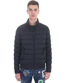 Blue Nylon Ignace Padded Jacket