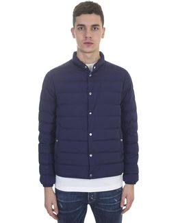 Blue Navy Bomber Jacket Cyclope