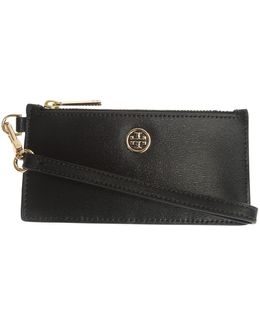 Leather Zip Up Wallet