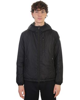 Nylon And Goose Down Zipped Jacket