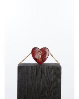 Red Love Monogram Bag