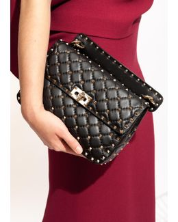 Black Rockstud Spike Bag