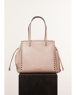 Skin Sorbet Shoulder Rockstud Bag