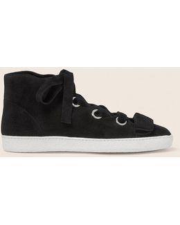 Suede Serena High Top Sneaker