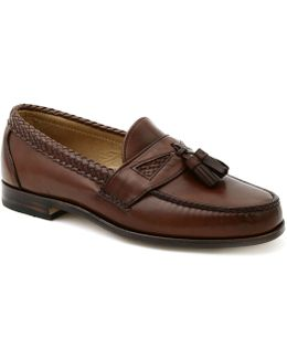 Maxfield Leather Tassel Loafers