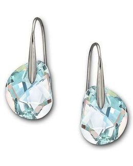 Galet Crystal Aurora Borealis Earrings