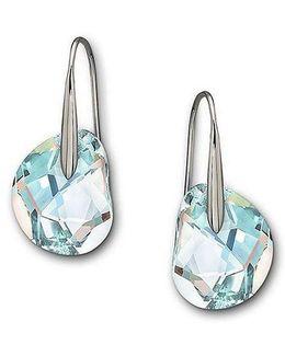 Galet Crystal Aurora Borealis Earrings