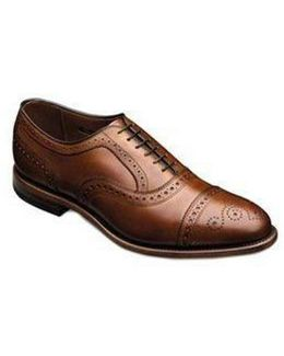 Strand Cap-toe Leather Dress Oxfords