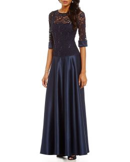Lace Gown
