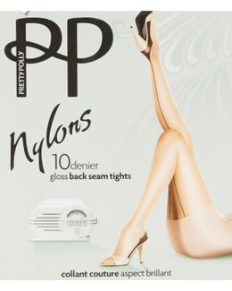 Nylon Backseam Tights