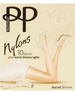 Gloss Secret Slimmer Reinforced Toe Tights